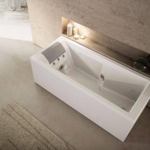 Jacuzzi lmcs la maison du carrelage balma toulouse - Vasca da bagno in cemento ...