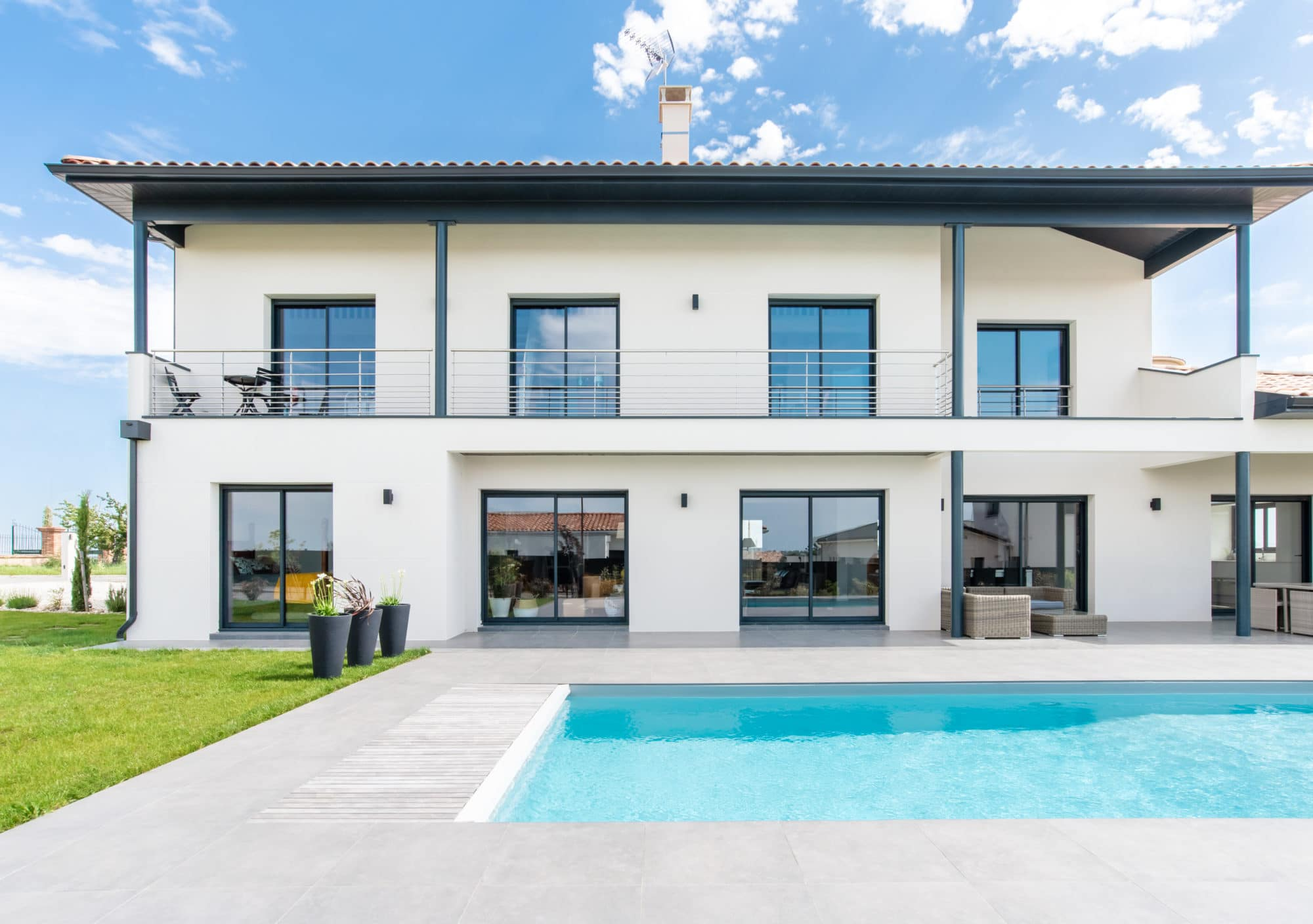 Maison architecte toulouse ventana blog - Architecte toulouse maison contemporaine ...